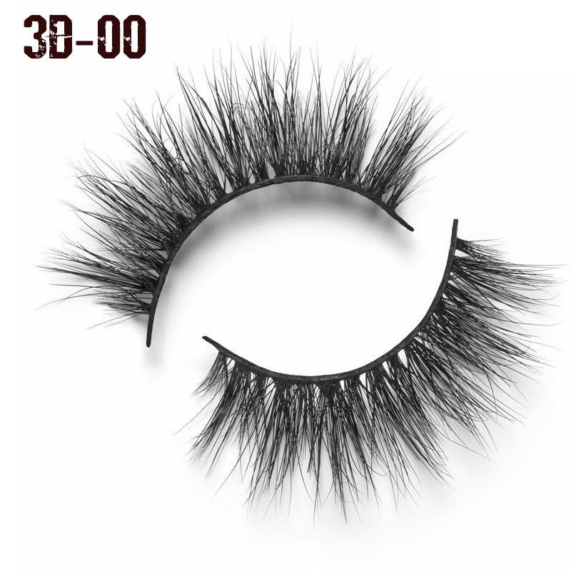 Beauty 3d Mink Lashes Extension Eyelash Cruelty Free Natural False